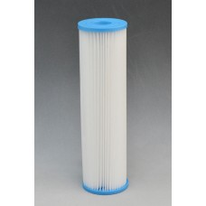 "10"" Standard Polypleated Filter Cartridge. 01µ"